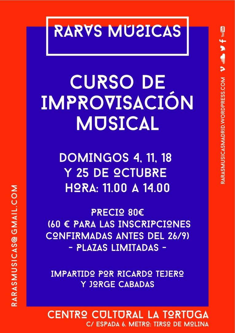 CURSO DE IMPROVISACION